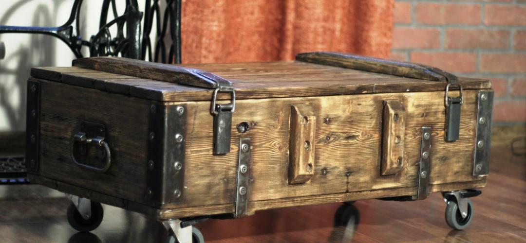 Ящик из под патронов