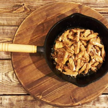 Филе куриное с кунжутом