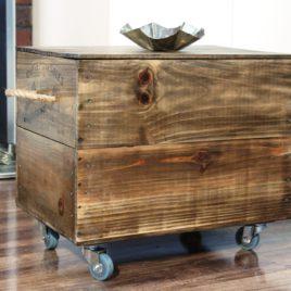 Столик – короб на колесах