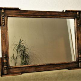 зеркало старинное деревянное