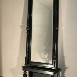 черное антикварное зеркало