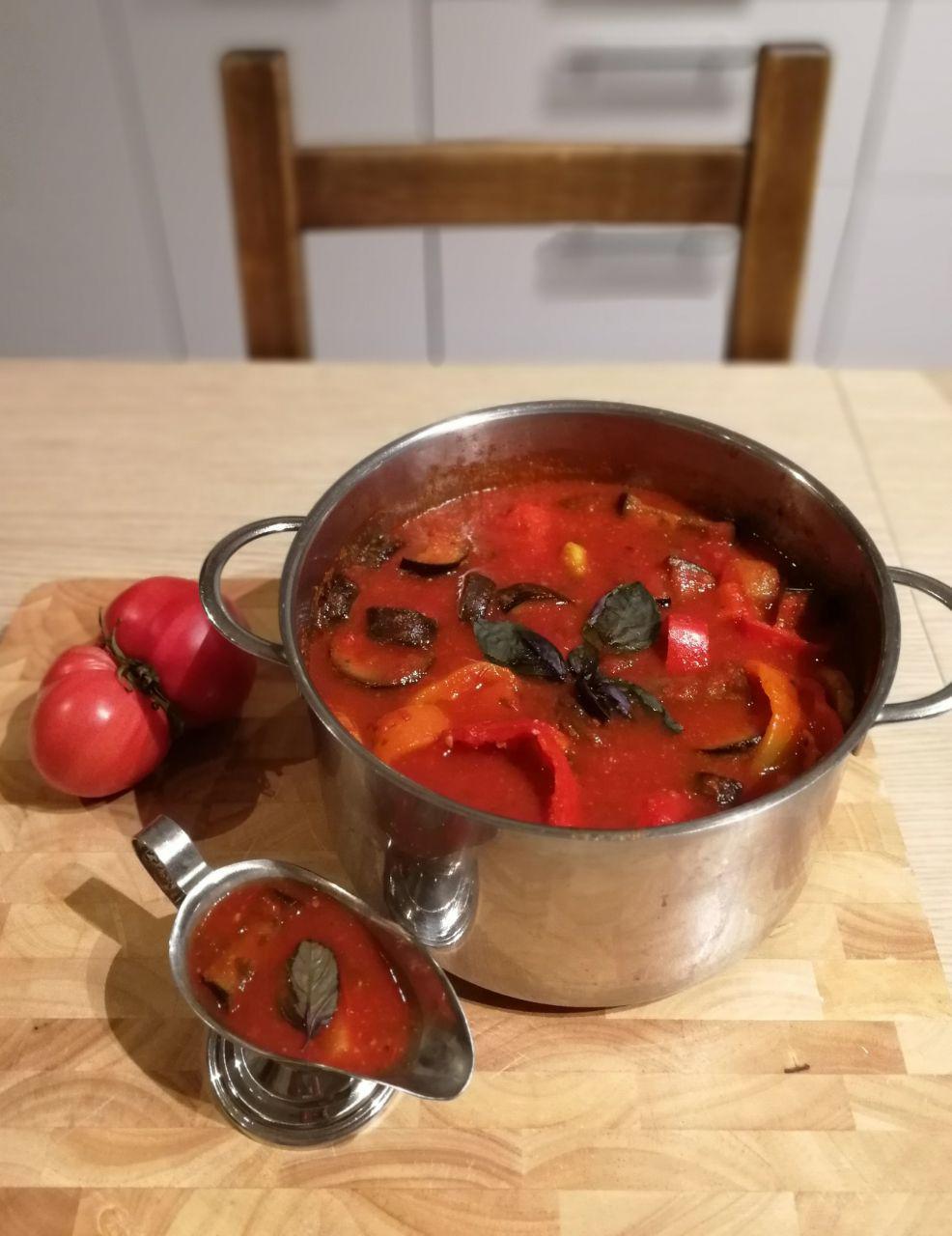 Закуска-соус из овощей